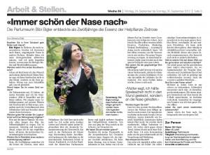 Basler Zeitung 2012